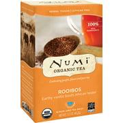 Numi Organic Tea, Rooibos, Tea Bags, 18 Ct