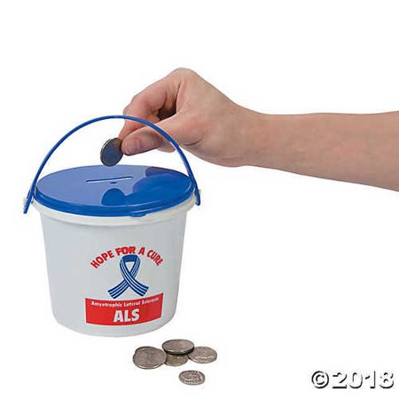 ALS Awareness Donation Buckets](Als Bucket Challenge Halloween)