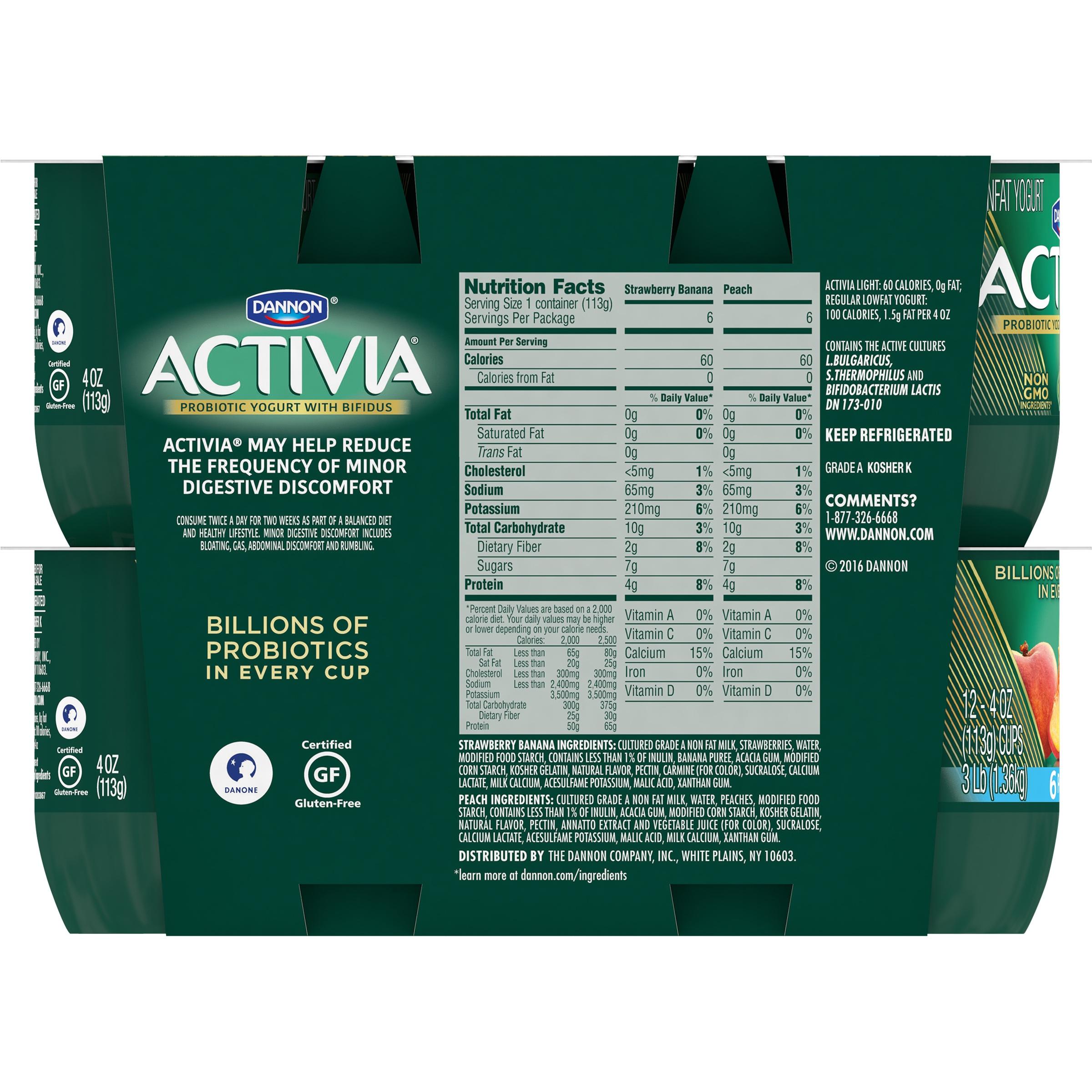 light yogurt nutrition facts | Decoratingspecial.com