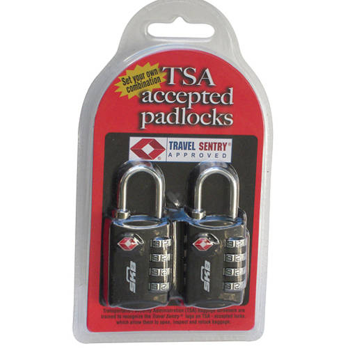 TSA Accepted Padlocks Allow You To Set Your Own Combination