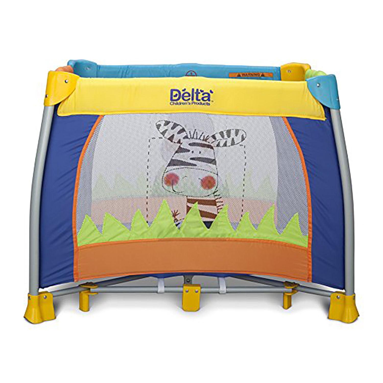 Delta Children's Fun Time Play Yard, Multi-Color