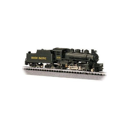 Bachmann Industries  1838 Prairie 2 6 2 Locomotive And Tender U P  Train Car  N Scale Multi Colored