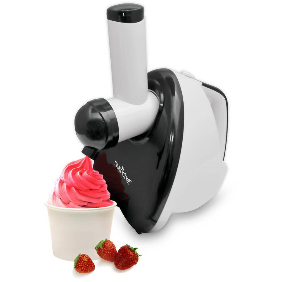 NutriChef 2-In-1 Dessert Maker and Salad Maker, Soft Serve Food Blender