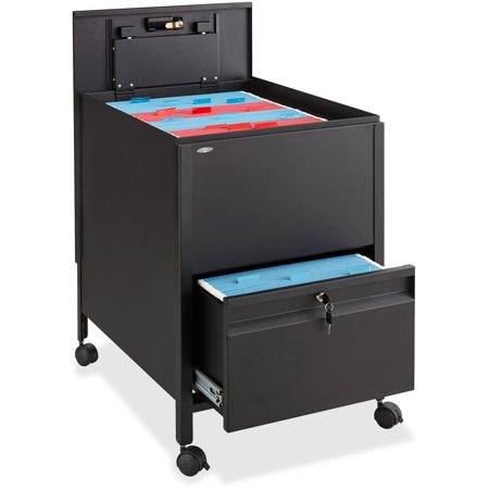 Safco Rollaway Mobile File Cart (5365bl) ()