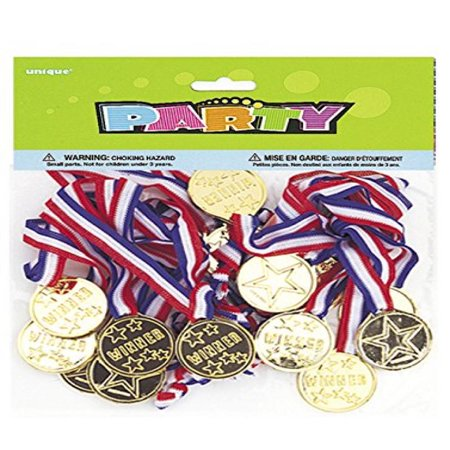 Gold Medal Party Game Prizes, 24ct - Good Halloween Game Prizes
