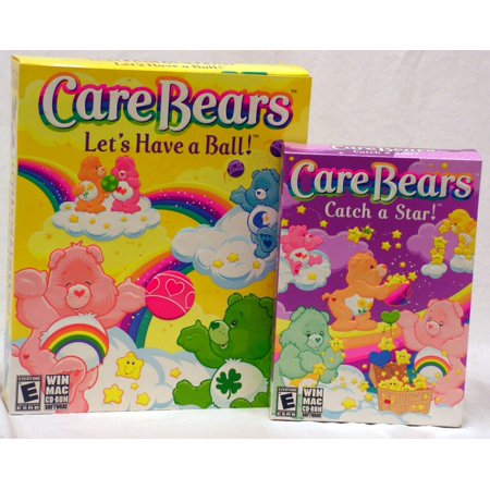 Care Bears Catch a Star and Let's Have a Ball (2 Classics PC Game - Catch A Ball