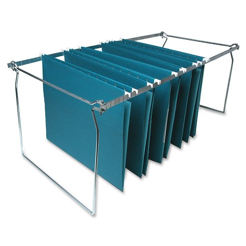 """Sparco Hanging File Folder Frame - 27"""" Letter Drawer - Metal - 6/box (SP26)"""