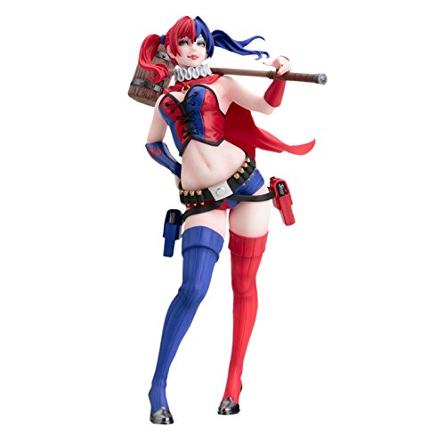 DC Comics Harley Quinn Bishoujo Statue (New 52 Version), A Kotobukiya import By Kotobukiya by