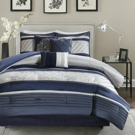 Home Essence Burnett 7 Piece Comforter Bedding Set