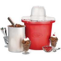 Nostalgia ICMP4RD 4-Quart Electric Ice Cream Maker