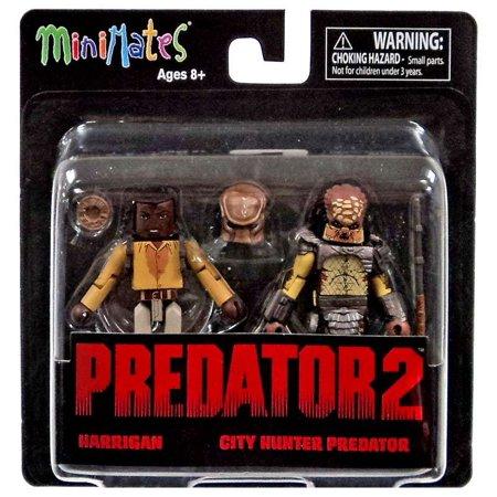 Minimates Series 1 Harrigan & City Hunter Predator Minifigure 2-Pack (City Hunter Predator)