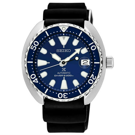 - Seiko Men's Prospex Automatic Stainless Steel Silicone Band Watch SRPC39J1