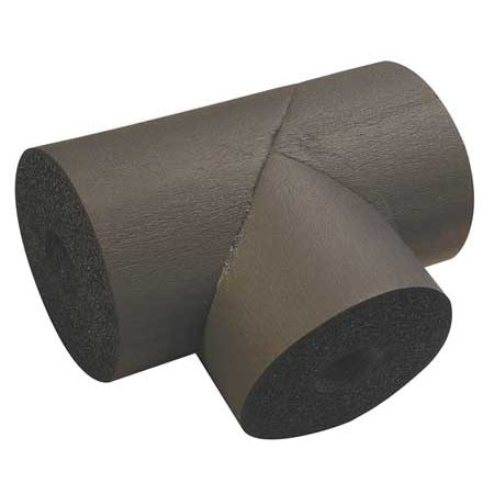 K-FLEX USA Pipe Fitting Insulation,Tee,1-5/8 In. ID 801-T-048158 - Nomaco K-flex Pipe