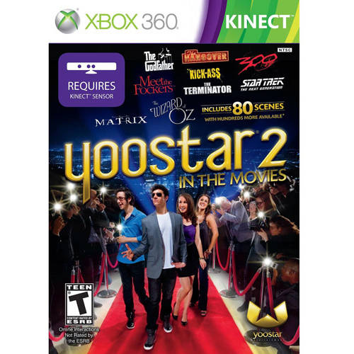 Yoostar 2:In The Movies Kinect  (Xbox 360) - Pre-Owned