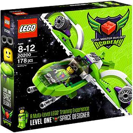 LEGO Master Builder Academy MBA Space Designer Set #20200 [Kit