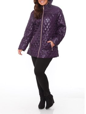 8b009df7e75 Product Image Women s Plus Size Puffer Coat. Product Variants Selector.  Black