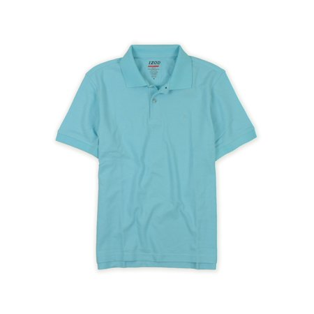 Izod Classic Polo Shirt - IZOD Mens Athletic Basix Cool-fit Rugby Polo Shirt