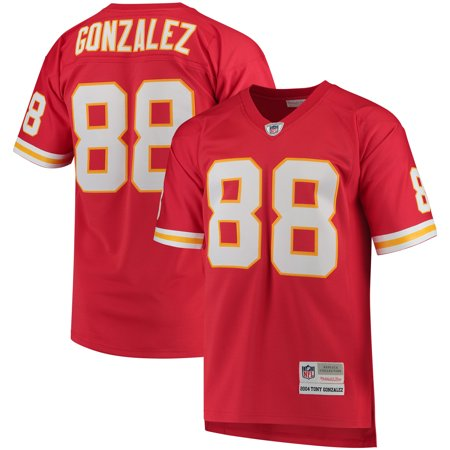 finest selection 56075 0e04b Tony Gonzalez Kansas City Chiefs Mitchell & Ness Retired Player Replica  Jersey - Red