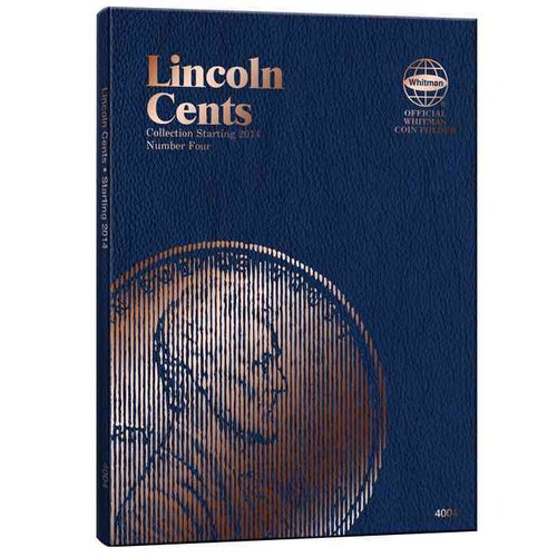 Lincoln Cent Folder #4: Whitman Folder