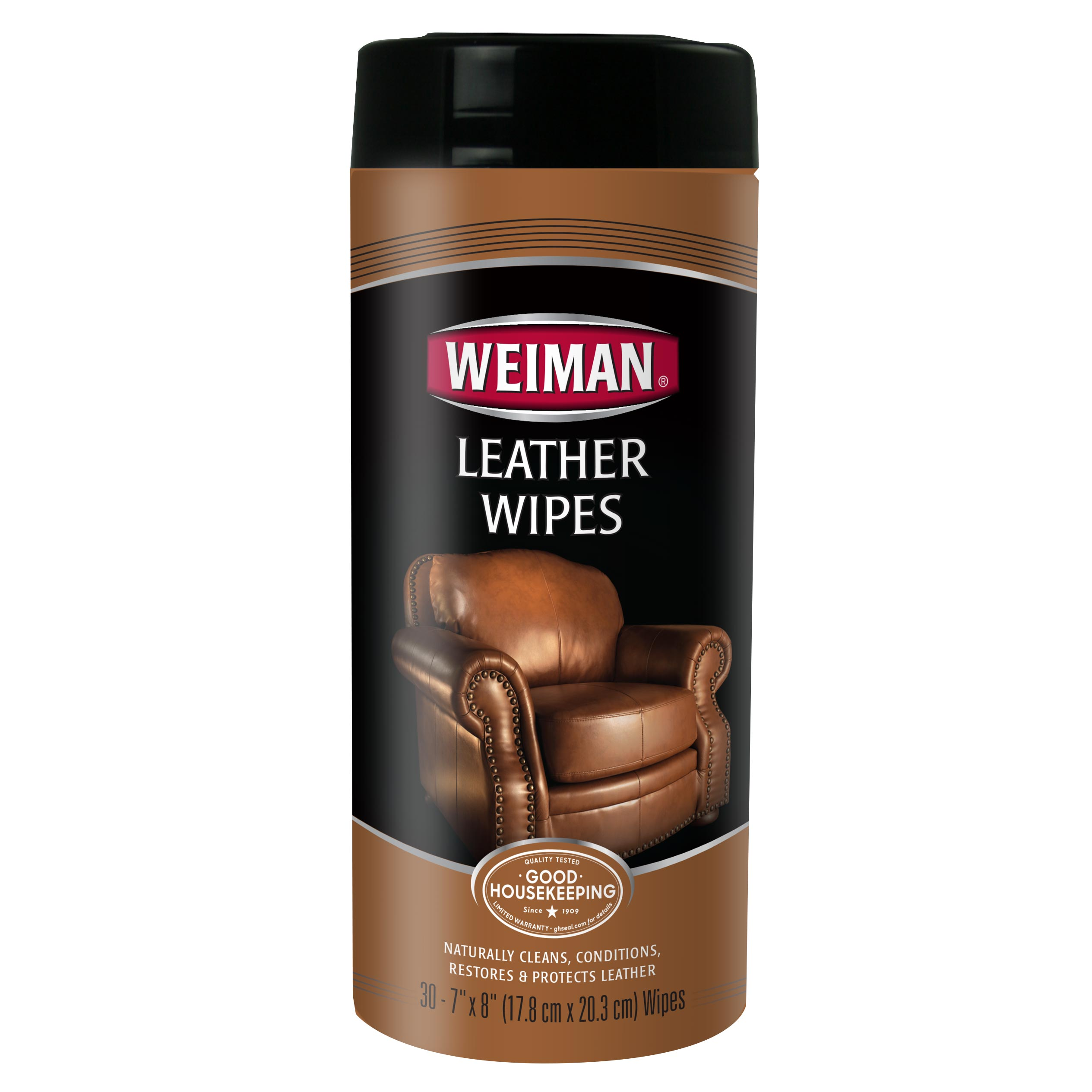 Weiman Leather Wipes, 30 Ct by Weiman Products, LLC
