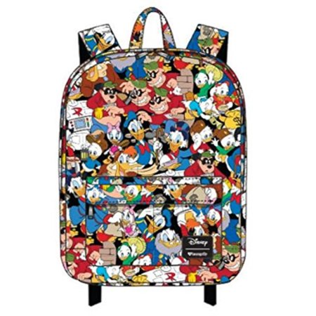 73187b581b Loungefly - Disney Ducktales Donald Duck Scrooge McDuck Character Backpack  by Loungefly - Walmart.com