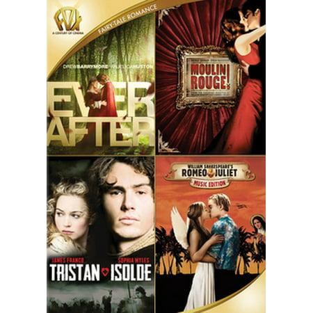 - Ever After / Moulin Rouge / Tristan & Isolde / Romeo & Juliet (DVD)