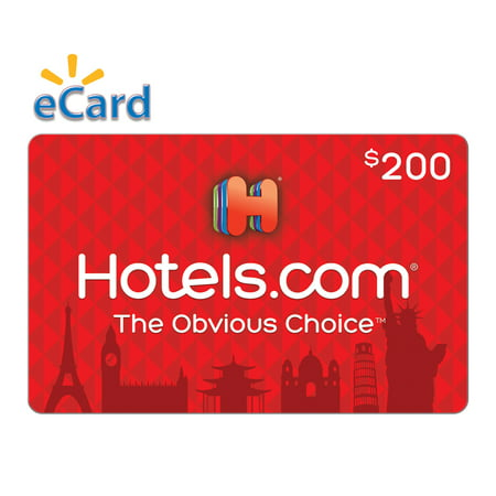 Hotels.com $200 Gift Card (email Delivery) ()