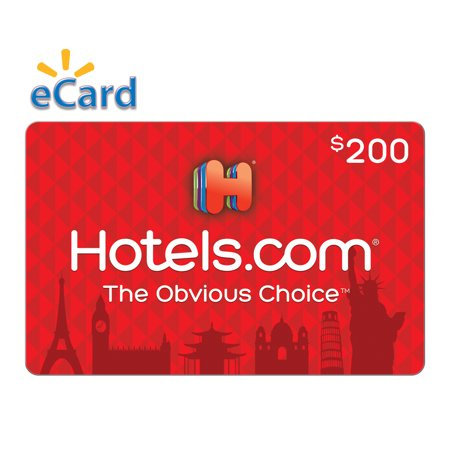 Hotels.com $200 Gift Card (email Delivery) (Best Travel Gift Cards)