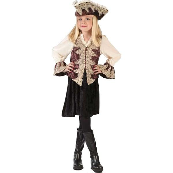 Childs Royal Pirate Lady Costume by