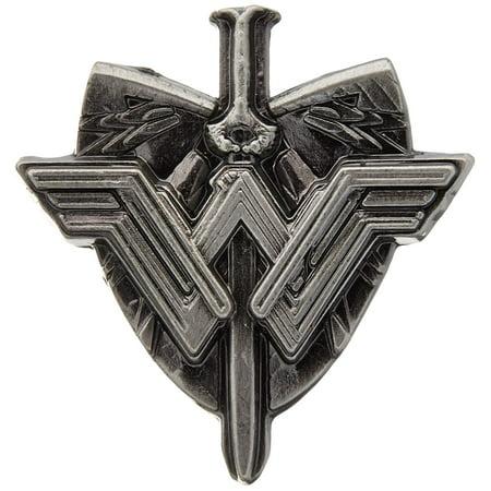 Pin - DC Comics - Wonder Woman Sword & Shield Logo Pewter New 45748 - image 1 of 1