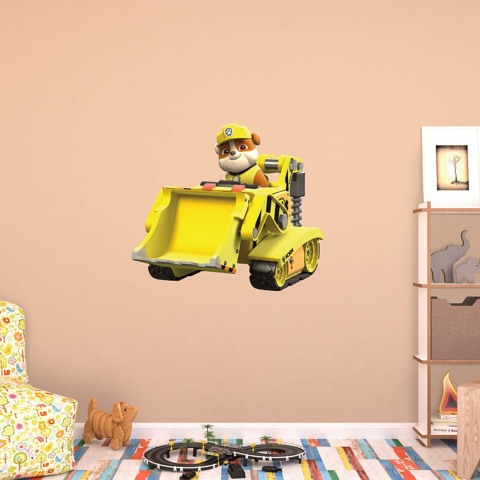 Fathead PAW Patrol Rubbles Digger Wall Decal