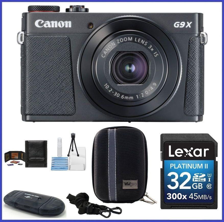 Canon PowerShot G9 X Mark II Digital Camera [Black] 32GB ...