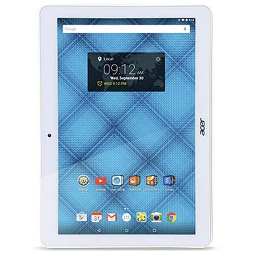 "Acer Iconia with WiFi 10.1"" Touchscreen Tablet PC Featuring Android 5.1 (Lollipop) Operating System"