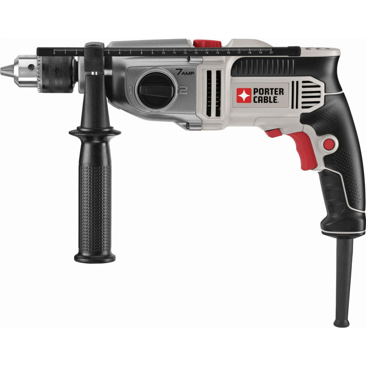 "Porter-Cable 1/2"" VSR 2 Speed Hammer Drill"