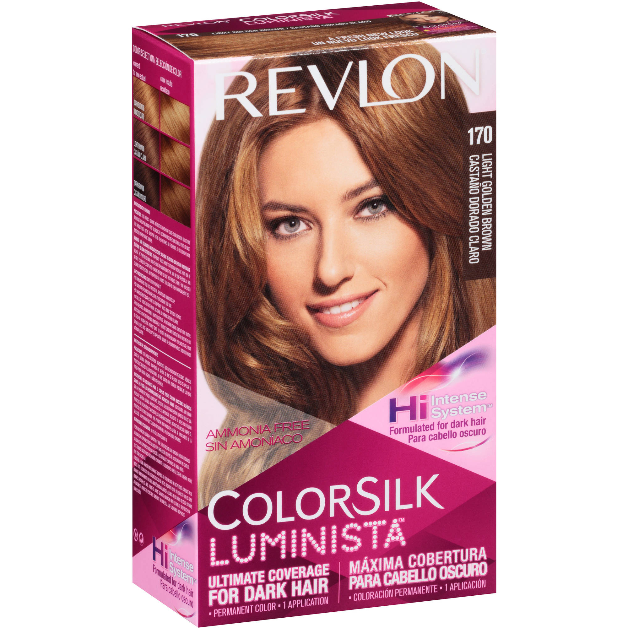 Revlon® Colorsilk Luminista™ Permanent Liquid Hair Color