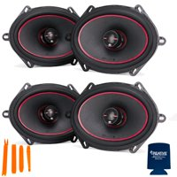 "MB Quart - 2-Pairs of Reference RK1-168 5x7/6x8"" Coaxial Speakers"