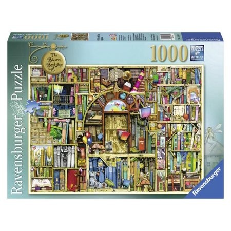 Ravensburger - The Bizarre Bookshop - 1000 Piece Jigsaw Puzzle ()