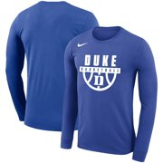 Duke Blue Devils Nike Basketball Drop Legend Long Sleeve Performance T-Shirt - Royal