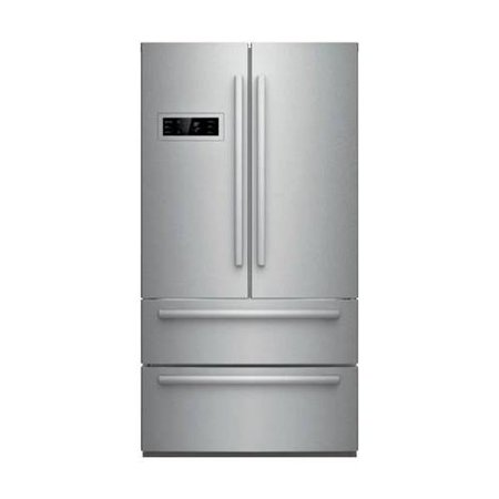 B21cl80sns 36  Counter Depth French Door Refrigerator With 20 8 Cu  Ft  Capacity  2 Freezer Drawer  Dual Aircool System  Crisper  And Ice Maker  Stainless Steel