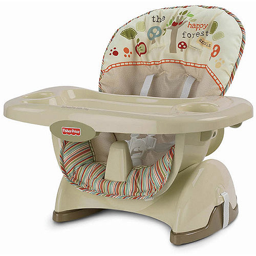 Fisher-Price - Space-Saver High Chair, Woodsy Friends