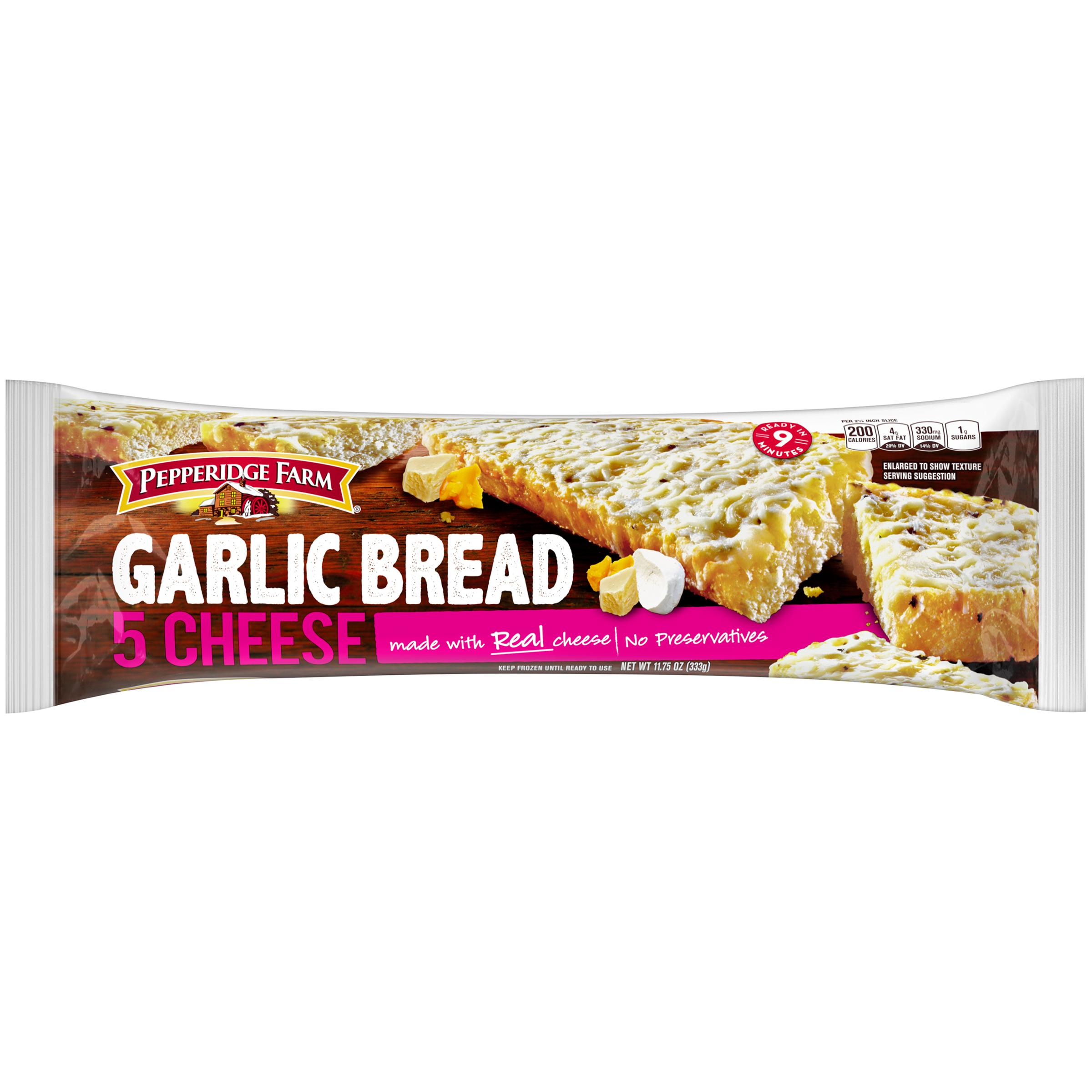 Pepperidge Farm�� Crusty Five Cheese Garlic Bread 11.75 oz. Bag