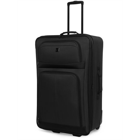 Protege 28 Regency 2-Wheel Upright Luggage, Black