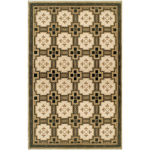 American Home Rug Co. Neo Nepal Empire Gold/Black Area Rug