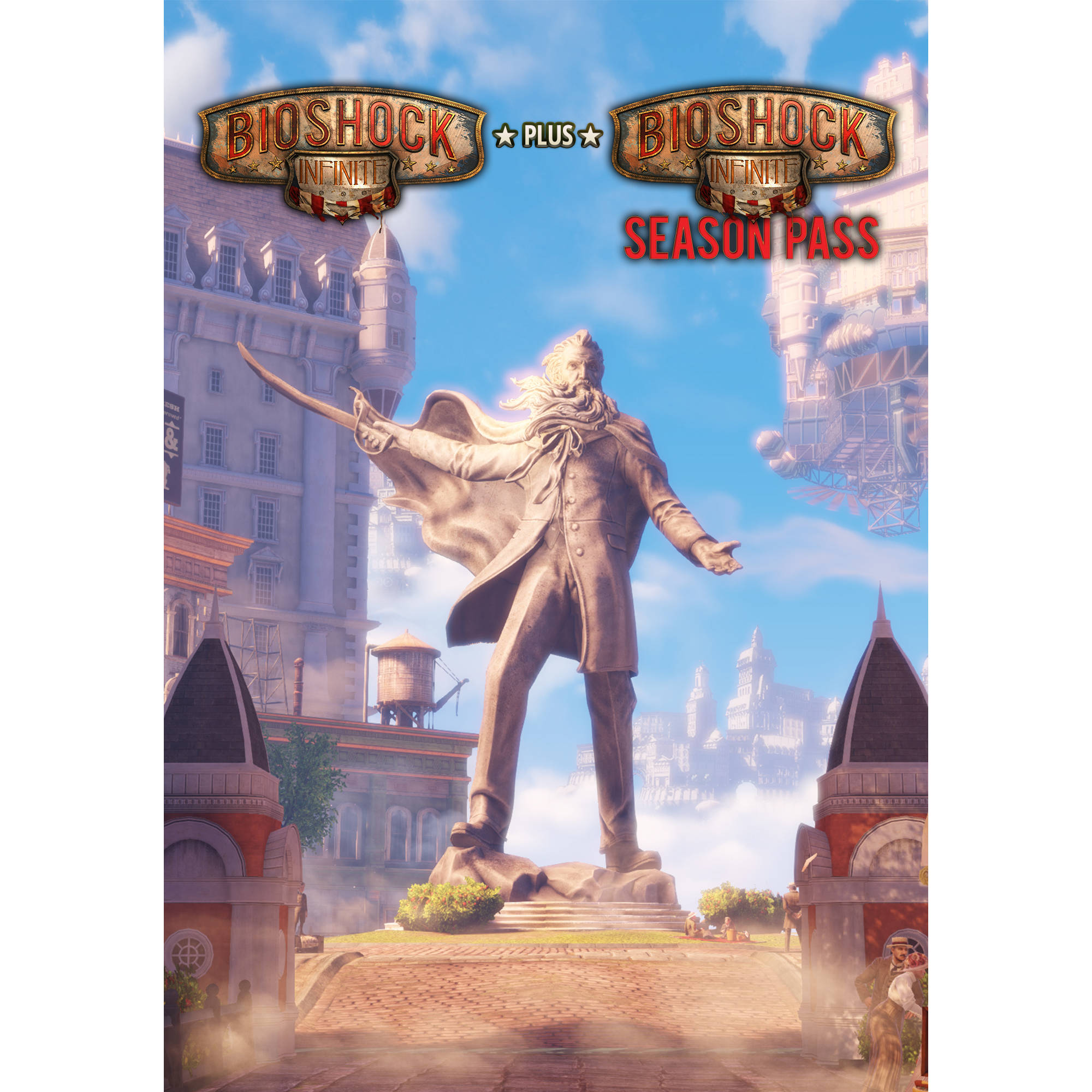 Image of BioShock Infinite and BioShock Infinite Season Pass Bundle (PC) (Digital Download)
