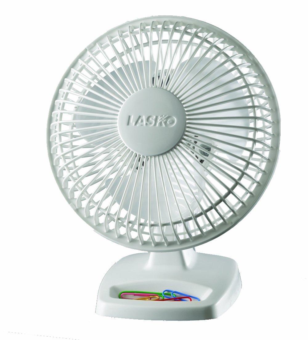 Lasko Personal Fan, 6 Inches, White