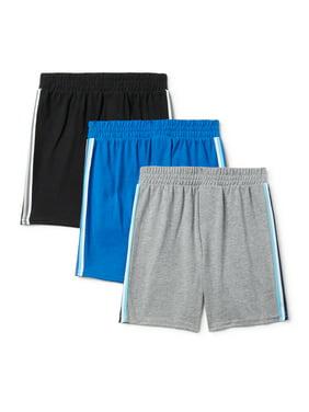 Garanimals Toddler Boy Jersey Mesh Taped Athletic Shorts, 3pk