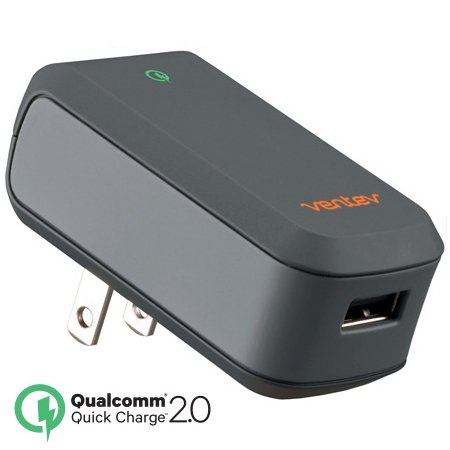 Ventev   Qualcomm Quick Charge Wallport Q1200 Wall Charger