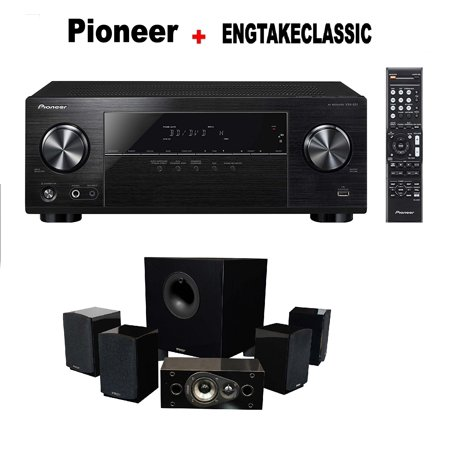Pioneer VSX-531 5.1 Channel Network AV Receiver Audio & Video ...