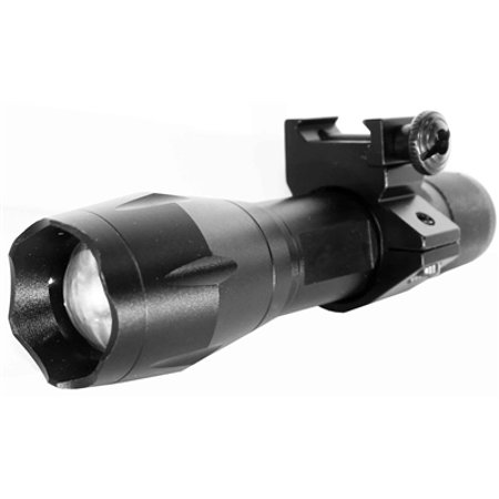 Rifle Flashlight, Rifle Strobe Flashlight, Weaver Mount 1200 Lumens hunting accessories.