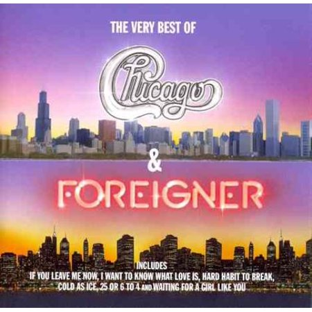Chicago/Foreigner The Very Best of Chicago & Foreigner CD - image 1 de 1